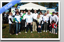 Store-A-Tooth raised $5000 for the JDRF Walk to Cure Diabetes